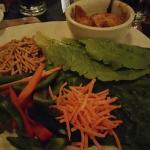 Thai Chicken Wraps at Main Street Grille North Canton