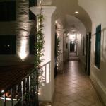 Hallway at night