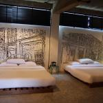 Beds with Murals