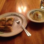 Delicious Manti and Baklava!