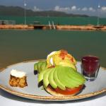 Breakfast at the Fish Inn