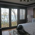 Bedroom with great ocean/jungle views