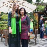 """madam Thuy and Ao dai, Vietnam """"dress"""" girls"""
