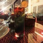 Norton - dark rum cocktail