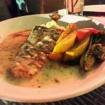 Grilled river sole - generous and great taste
