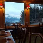 Très belle vue de la salle de restaurant ;)