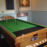 Bar billiards & darts room