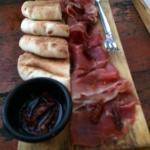 Prosciutto plate was amazing