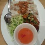 BBQ pork Vietnamese rolls! The best starter!