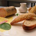 Foie gras passion et Langoustines au Sésame -  - Jardins Aliénor - hotel restaurant ile oleron