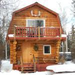 Sourdough cabin! So majestic in the winter.