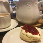 Lovely cream tea.