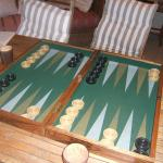 Bobby was instrumental in making popular the game of backgammon around South Africa.