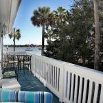 Enjoy this private bayfront balcony when you rent Victoria's Room