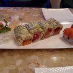 sashimi, Cherry Hill Roll, Tiger Roll