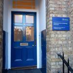 Entrance to no. 9