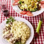 Γαμοπιλαφο και κρητική σαλάτα