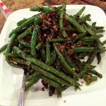 These string beans were great with minced meat in it