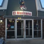 Entrance and a chicken burrito.