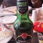We also enjoyed a bottle of Brunty's (English) apple cider.