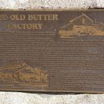Old Butter Factory plaque