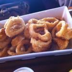 Calamari with homemade dips