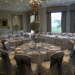 Crosby suite decorated for the wedding