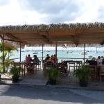 Le terrasse en bordure de mer !