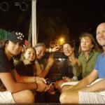 Notre groupe d'amis chez Mister pizza