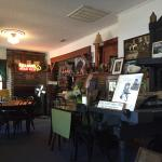 Cafe' in a museum