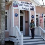 """Museum employee Martha Hutcheson is the Festival's coordinator and """"Energizer Bunny."""""""