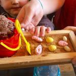 Seaside inspired kids dessert