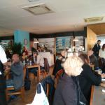 Restaurante lleno y todos encantados