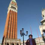5 minutes walk from the campanile on St Mark's Square
