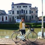 giugno 2015: la nostra amica messicana per una bella pedalata in Riviera del Brenta