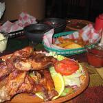 BBQ Pork rib dinner
