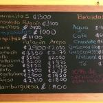 Perfect food and perfect prices, no better value in Costa Rica (facebook photos added with the p