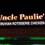 Uncle Paulie's Restaurant - Outside Sign Above Store