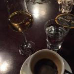 A real italian lunch or dinner needs to have an ESPRESSO and a GRAPPA... That's the way to do it