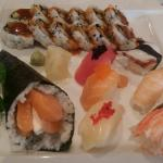 Amazing sushi plates