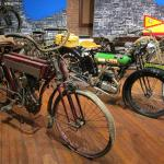 Antique Motor Cycles current on display