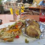 escovitch fish and potatoes