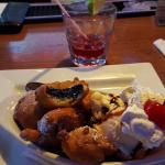 Fried Oreo's and Vodka w/cranberry.