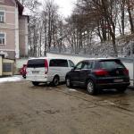Bewachter und gesicherter Parkplatz (gegen Aufpreis von € 8,00)