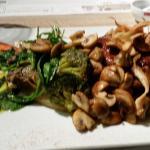 Filet Pur met gebakken champignons