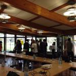 Salle de séminaire pendant team building