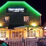 Harvester outside
