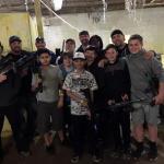 The Paintball team!