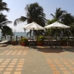 vista desde el lobby a la playa