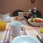 My lovely breakfast spread